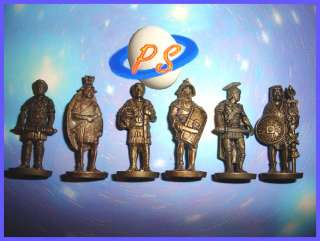 KINDER SURPRISE METAL SET   ROMANS BRASS 35 MM