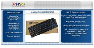 LAPTOP KEYBOARD FOR DELL INSPIRON 1545 1525 1400 BLACK