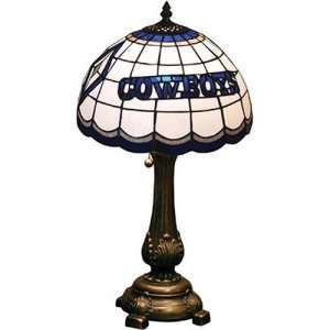 Dallas Cowboys NFL Stained Glass Table Lamp Sports