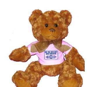 ON THE 8TH DAY GOD CREATED DESIGNER CLOTHING Plush Teddy