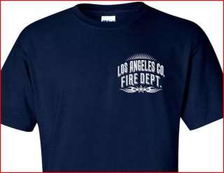 Los Angeles County F.D. T shirt Tribal M L XL 2XL 3XL 4XL   Short/Long
