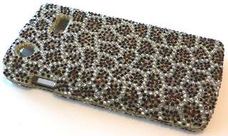 For Samsung Captivate i897 Leopard Diamond Crystal Phone Case Cover
