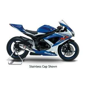 08 09 SUZUKI GSXR600 YOSHIMURA R 55 SLIP ON EXHAUST   STAINLESS STEEL