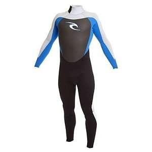 Rip Curl Mens Dawn Patrol Back Zip 4/3 Wetsuit Fullsuits
