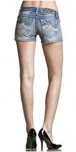 New Womens Miss Me Denim Brand M Jeans Shorts JD1038H6 25 26 27 28 29