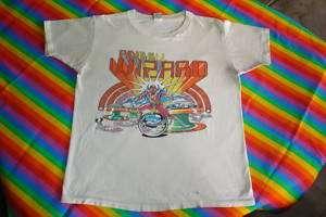 70S VINTAGE PINBALL WIZARD TEE SHIRT ROCK N ROLL