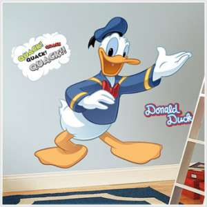 DISNEY DONALD DUCK Wall Mural Stickers RoOm Decor DeCaLs Mickey Mouse