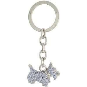 Terrier Dog Puppy Key Chain, Key Ring, Key Holder, Key Tag , Key