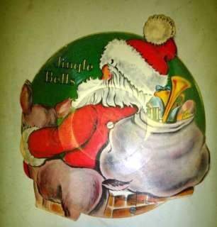 1948 vintage SANTA CLAUS CHRISTMAS RECORD ~45rpm ~RARE