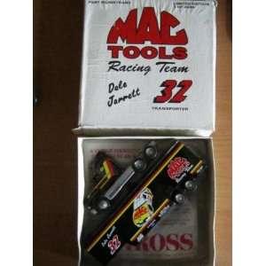 MAC Tools Racing Team #32 Dale Jarrett Tractor Trailer Toys & Games