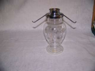 Princess House Heritage Tea Light Lamp Replacement Base