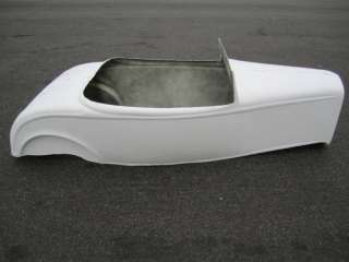 Roadster pedal car hot rod stroller 1/4 scale fiberglass body rat rod
