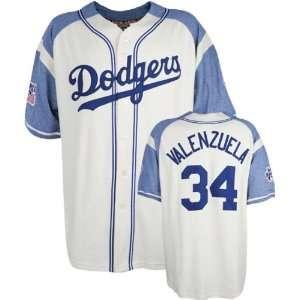 Fernando Valenzuela Brooklyn Dodgers Throwback Sandlot