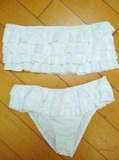 2PCS New Sexy Lady Beach Summer Woman Bikini riangle Female Swimwear