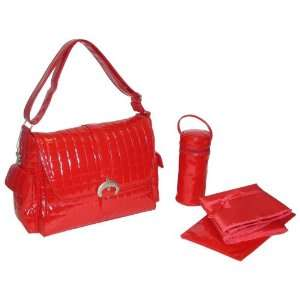 Kalencom Monique Red Diaper Bag: Baby