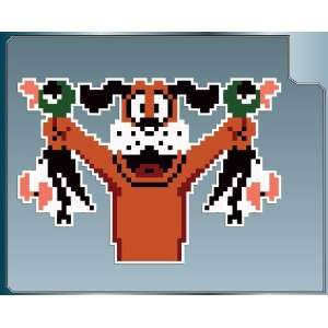 DOG with DUCKS sprite from DUCK HUNT vinyl decal sticker 4