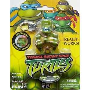New Teenage Mutant Ninja Turtles TMNT Leonardo Blue Keychain Backpack