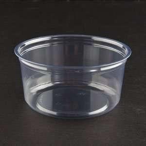 Fabri Kal Alur RD12 12 oz. Clear PET Plastic Round Deli