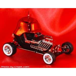Tom Daniels RAD RATZ 143 Diecast Old Skool Rat Rod   Red
