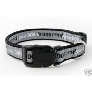 Douglas Paquette Nylon Dog Collar YING YANG 1x13 20