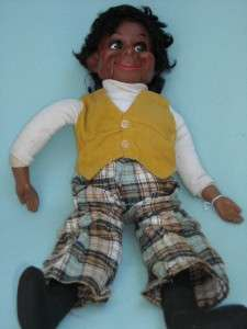 1973 LESTER VENTRILOQUIST Dummy Doll Puppet Vintage