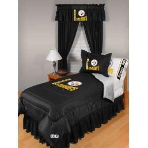 NFL Pittsburgh Steelers Locker Room Twin Comforter