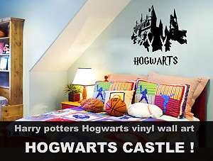 Harry Potter Hogwarts Castle Wall Art Vinyl Best Qualit