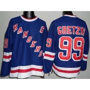 Rangers Blue Youth Jersey Hockey Jersey Size S/M