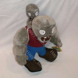 Plants Vs Zombies Gargantuar zombie 12 soft toy