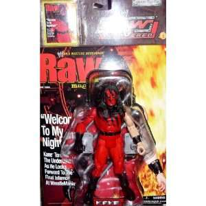 KANE   WWE Wrestling Raw Uncovered Figure by Jakks Toys & Games
