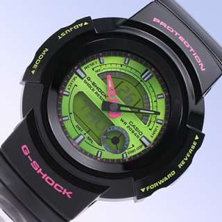Casio G Shock World Time Chrono Ana Digital AW582SC 1A