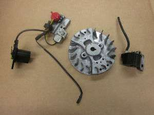 HONDA GXH50 2.5HP ENGINE FLYWHEEL IGNITION COIL, ON/OFF