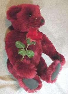 Steiff Dew Drop Rose 16 Teddy Bear Button In Ear NR