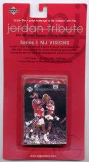 Michael Jordan Tribute 1 MJ Visions Set Factory Sealed