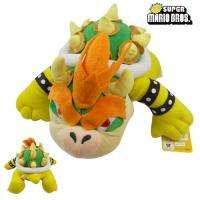 Super Mario Bros Bowser 12.8 Soft Stuffed Doll Toy