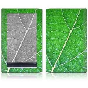 Sony Reader PRS 950 Decal Sticker Skin   Green Leaf
