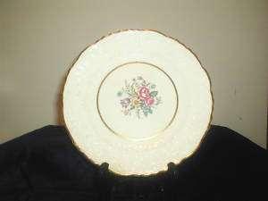 Pope Gosser, Rose Point, Pattern # POP59, Salad Plate