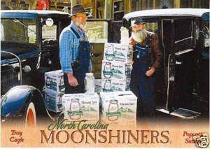 Popcorn Sutton Postcard   Moonshine