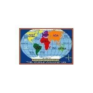 New   Kids World Map 39x58   TSC 161 3958 Toys & Games