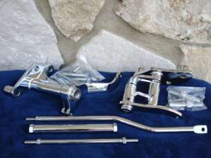 LOWER BELT GUARD CHROME FOR HARLEY FXST 1985 98 PARTS