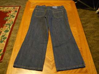 Girls Lands End Plus Size Boot Cut Jeans 8 14 Plus NWT