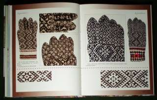 Estonian Folk Costume embroidery pattern knitting glove