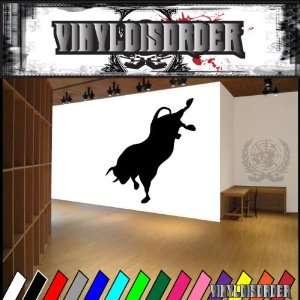Bull Shadow Bucking Bulls Animal Animals Vinyl Decal
