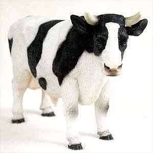 Holstein Bull Figurine Home & Kitchen