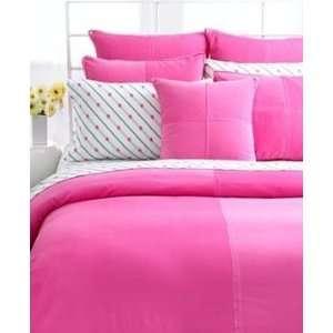 Tommy Hilfiger Bedding, American Cotton Classics Hot Pink Bubblegum