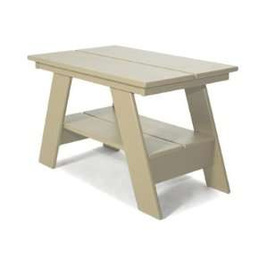 Recycled Plastic Outdoor Furniture End Table Patio, Lawn & Garden