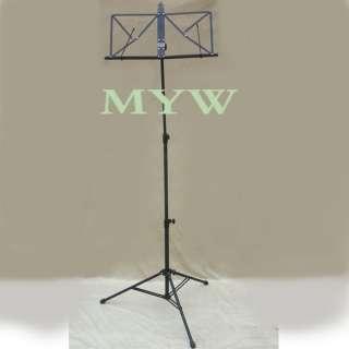 metal music sheet stand folding body strong light
