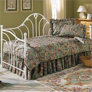 Fashion Bed Group Emma Metal Antique White Finish Daybed 094325067602