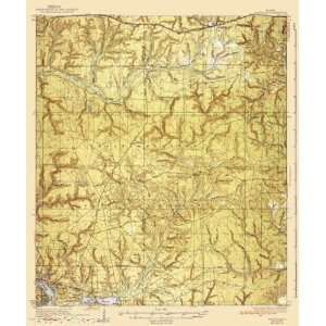 USGS TOPO MAP NICEVILLE QUAD FLORIDA (FL) 1936 Home