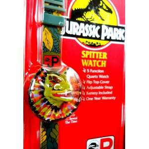 Jurassic Park Spitter Watch Flip Cover Electronics